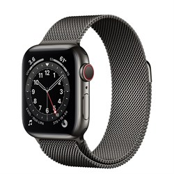 Apple Watch Series 6 GPS Stainless Steel Case - фото 12306