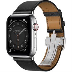 Apple Watch Series 6 Hermes with Single Tour Deployment Buckle - фото 12344