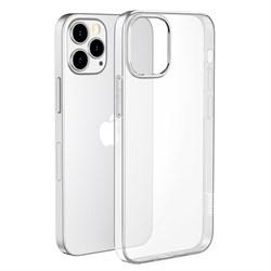 Чехол силиконовый Hoco для iPhone 12 Pro Max - фото 12858
