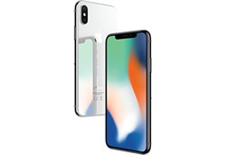 Apple iPhone X 64Gb Silver - фото 6135