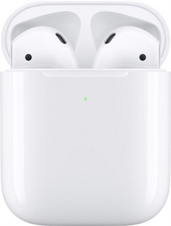 Apple AirPods 2 (беспроводная зарядка чехла) - фото 9356