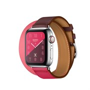 Apple Watch Hermes Series 4 GPS+Cellular Stainless Steel Case Double Tour