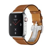 Apple Watch Hermes Series 4 GPS+Cellular Stainless Steel Case Single Tour