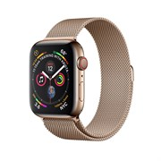 Apple Watch Sport Series 4 GPS + Cellular Stainless Steel Case Milano