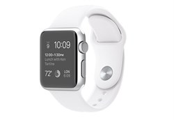 Apple Watch Sport 38 мм Silver White - фото 5355