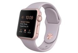 Apple Watch Sport 38 мм Rose Gold Lilas - фото 5356