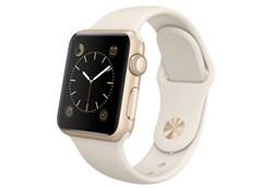Apple Watch Sport 38 мм Gold White - фото 5357