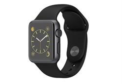 Apple Watch Sport 38 мм Space Grey Black - фото 5358