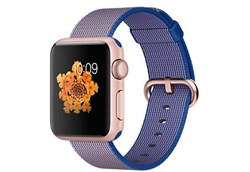 Apple Watch Sport 38 мм Rose Gold Neilon-Cobalt - фото 5359