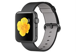 Apple Watch Sport 38 мм Space Grey Neilon-Black - фото 5360
