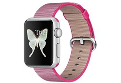 Apple Watch Sport 38 мм Silver Neilon-Rose - фото 5361