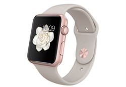 Apple Watch Sport 42 мм Rose Gold Beige - фото 5363