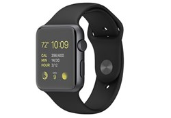 Apple Watch Sport 42 мм Space Grey Black - фото 5365