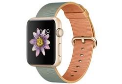 Apple Watch Sport 42 мм Gold Neilon-Gold-Cobalt - фото 5368