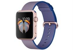 Apple Watch Sport 42 мм Rose Gold Neilon-Cobalt - фото 5369