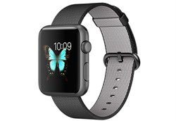 Apple Watch Sport 42 мм Space Grey Neilon-Black - фото 5370