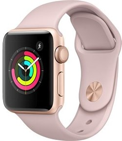 Apple Watch Series 3  38mm GPS Pink  - фото 6184