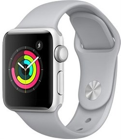 Apple Watch Series 3  38mm GPS Fog - фото 6190