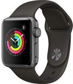 Apple Watch Series 3  38mm GPS Grey - фото 6196