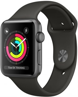 Apple Watch Series 3  42mm GPS Grey - фото 6214