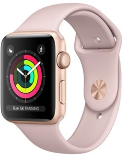 Apple Watch Series 3  42mm GPS Pink  - фото 6226