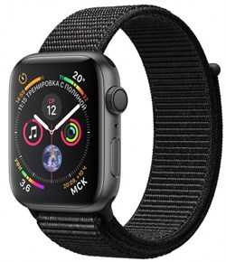 Apple Watch Sport Series 4 GPS Loop - фото 8228