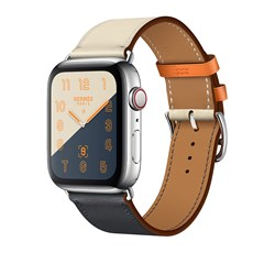 Apple Watch Hermes Series 4 GPS+Cellular Stainless Steel Case Single Tour - фото 8736