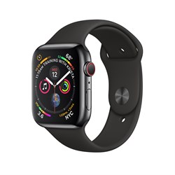 Apple Watch Sport Series 4 GPS + Cellular Stainless Steel Case - фото 8750