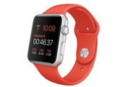Apple Watch Sport 42 мм Silver Orange