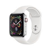 Apple Watch Sport Series 4 GPS + Cellular Stainless Steel Case